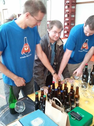 Salon international des brasseurs amateurs les amis de for Salon de la biere paris 2017